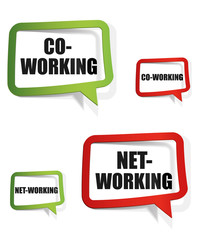 co-working, net-working
