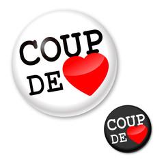 Coup de coeur - Badge