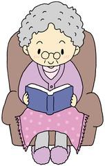 読書 おばあちゃん