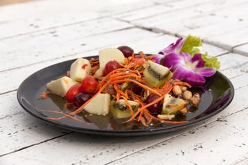 Mixed fruit salad thai style 01