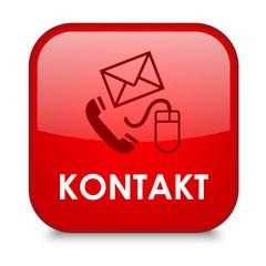 """""""KONTAKT"""" Button (Kundenservice Rufen Sie Uns Web Knopf Hotline)"""