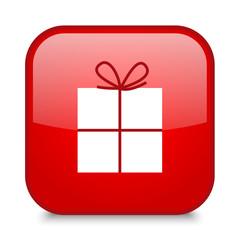 GIFT icon (button present Christmas x-mas special)