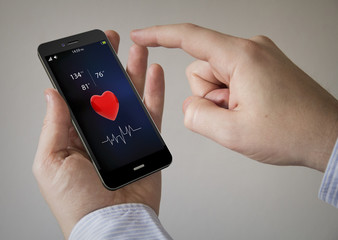 health touchscreen smartphone