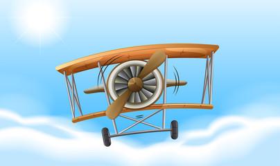 A vintage propeller