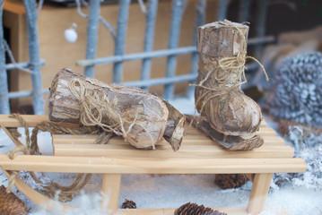 Pattini di legno