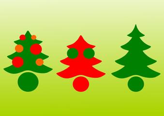 Weihnachtsbaum Vektor