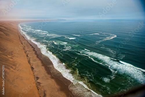 Fotobehang Woestijn Deserto della Namibia