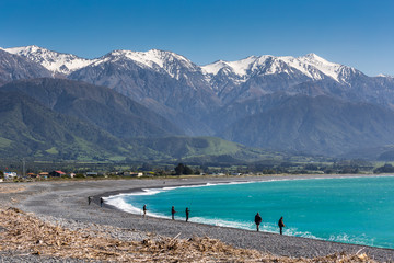 Kaikoura Beach, South Island, New Zealand