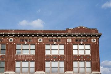 Detail Work on Old Brick Building