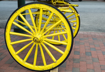 Yellow Wagon Wheel