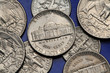 Постер, плакат: Coins of USA Monticello US nickel