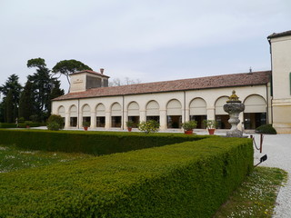 The patrician villa Emo in the Veneto in northern Italy
