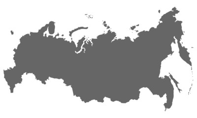 Russland in Grau