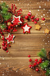 christmas frame background - 73877826