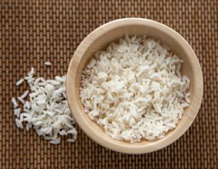 riz et bambou