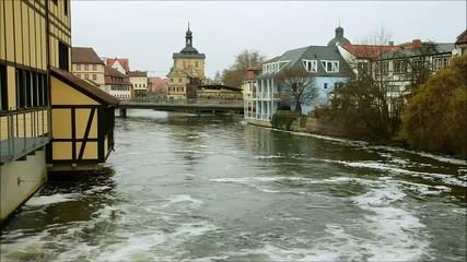 Timelapse Bamberg Rathaus Blick 02