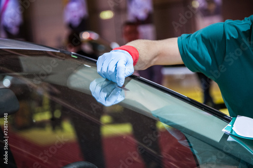 repair car windshield - 73878448
