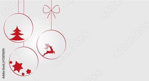 Fototapeta Boże Narodzenie, bombka, święta, kartka, życzenia