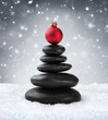 spa stones - in christmas - 73879855