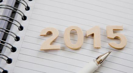 2015 cahier et stylo bille
