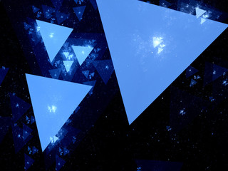 Triangles in space