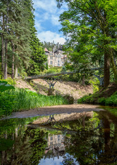 Debdon Burn at Cragside, Northumberland.