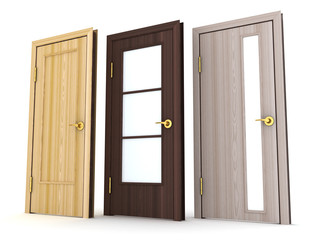 Three doors