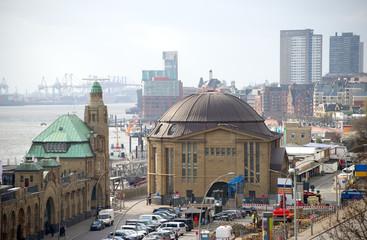 Alter Elbtunnel in Hamburg
