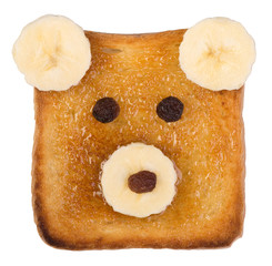 Funny toast for kids