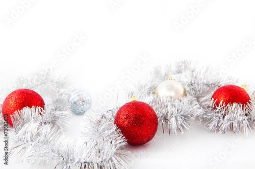 Foto op Aluminium Edelsteen christmas card