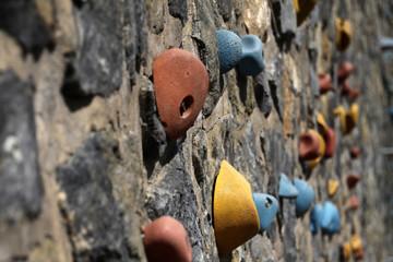 Boulder-Wand