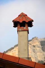 chimenea rustica