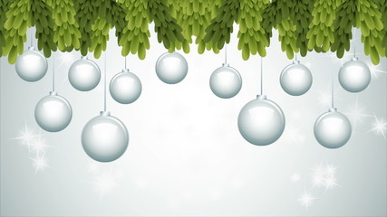 Christmas ball animation