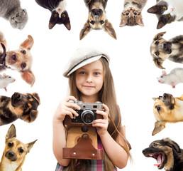 set pet and child photographer
