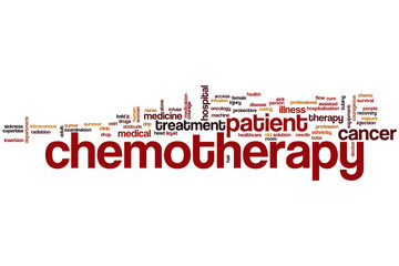 Chemotherapy word cloud