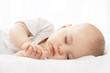 Sleeping baby - 73889420