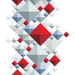 Bright geometric squared background, rhombic transparent seamles