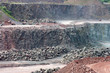 view in a surface mine quarry - 73890201