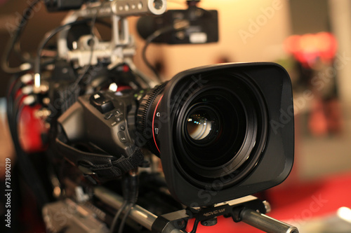 Leinwandbild Motiv Video camera