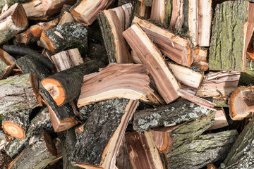 Chopped wood - textura/wallpaper