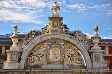 Madrid, Puerta de Felipe IV en el Parque del Retiro