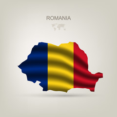 Flag of Romania as a country