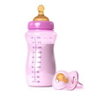 baby bottle and pacifier - 73893081