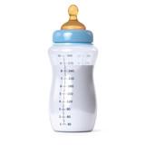 blue baby bottle