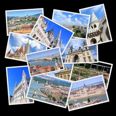 Hungary - Budapest - photo collage