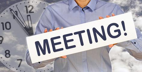 Meeting - 5 vor 12
