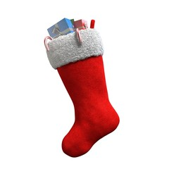 3d illustration of a Christmas Stocking