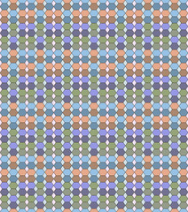 Abstract seamless stained-glass pattern