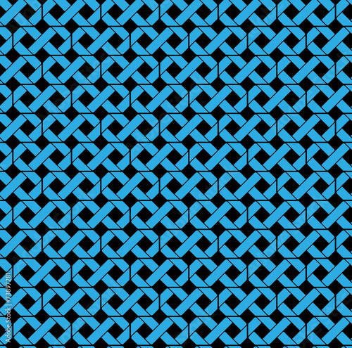 poster of Colorful geometric seamless splicing pattern, symmetric endless