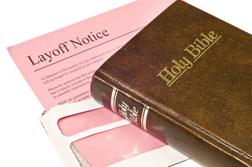 Layoff Notice And Bible